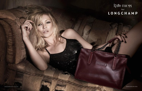 Fall 2010 Kate Moss for Longchamp collection