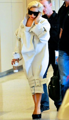 Lady Gaga straight jacket