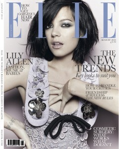 lily allen uk elle british august cover lavender Miu Miu dress