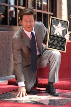 Mark Wahlberg Hollywood Walk of Fame Star