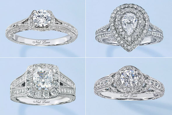 Neil Lane Bridal Collection Kay Jewelers engagement rings diamond