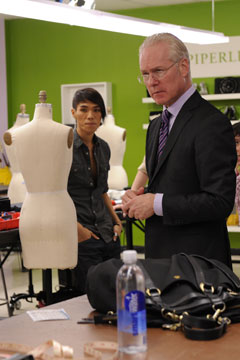 Tim Gunn Project Runway season 8