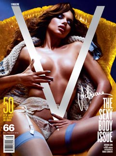Adrian Lima V Magazine The Sexy Body Issue cover