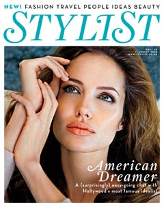 Angelina Jolie Stylist cover August 2010