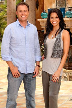 Co-hosts Bachelor Pad Chris Harrison Melissa Rycroft