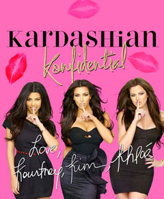 Kardashian Konfidential book cover height photoshopped kourtney kim khloe