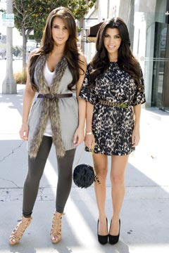 Kim Kourtney Kardahsian K-Dash By Kardashian collection for QVC
