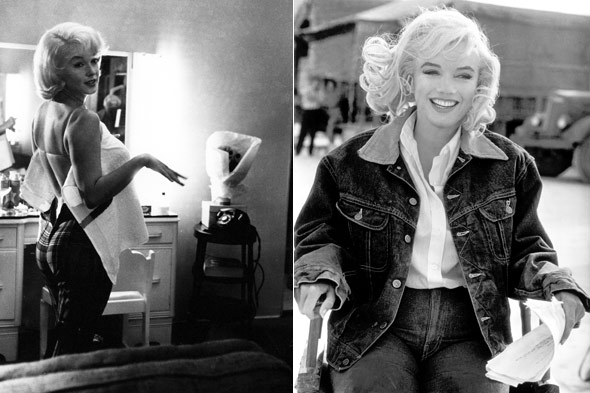 Marilyn Monroe jean jacket The Misfits