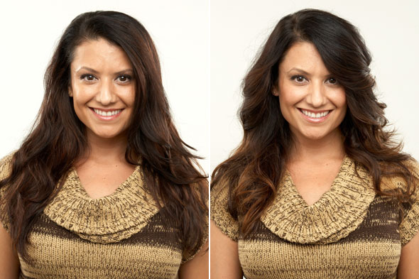 Shape: The Perfect Haircut for a Square Face With Thick, Wavy Hair