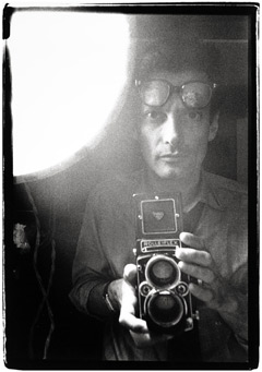 Richard Avedon photograph self portrait