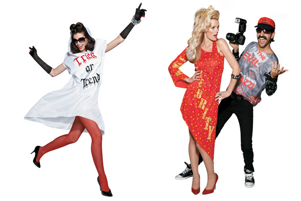 Simon Doonan Target Halloween costumes fnspired by reality TV characters