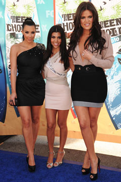 teen choice awards 2010 kim kardashian kourney khloe nude black dresses 240sc090910 teen choice awards 2010 kim kardashian kourtney kardashian khloe kardashian ...