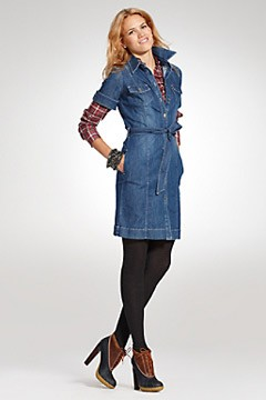 Denim Dress on Denim Shirtdress  At Tommy Hilfiger  Photo  Tommyhilfiger Com