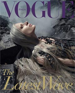 Vogue Italia The Latest Wave oil spill editorial