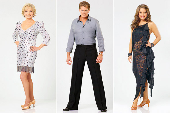 Florence Henderson David Hasselhoff Bristol Palin Dancing with the Stars