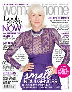 Helen Mirren cover Woman and Home Magazine