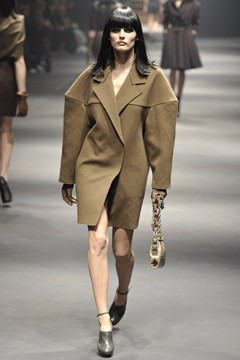 lanvin runway fall 2010 oversized coat