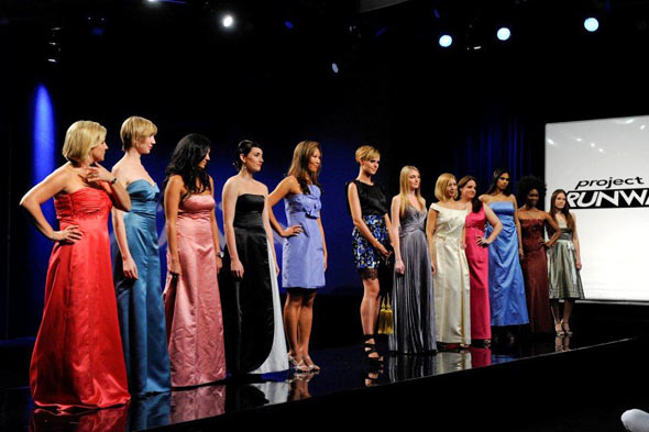 Project Runway season 8 episode 6 bridesmaids dresses