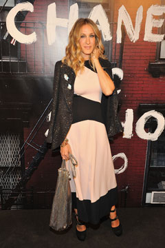 Sarah Jessica Parker Chanel Soho Boutique re-opening