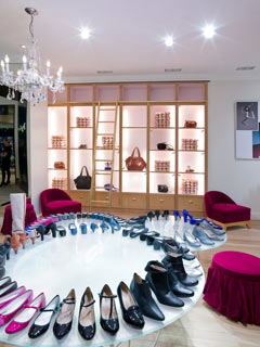 Shoe department at Selfridges