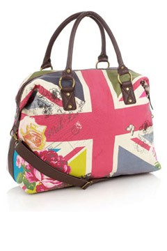 Union Jack Weekend Bag Accessorize.com