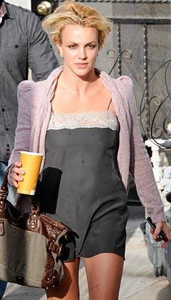 Britney Spears lingerie skimpy lace nightie