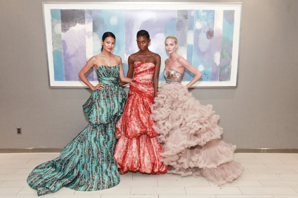 Christian Siriano Spring 2011 collection gowns