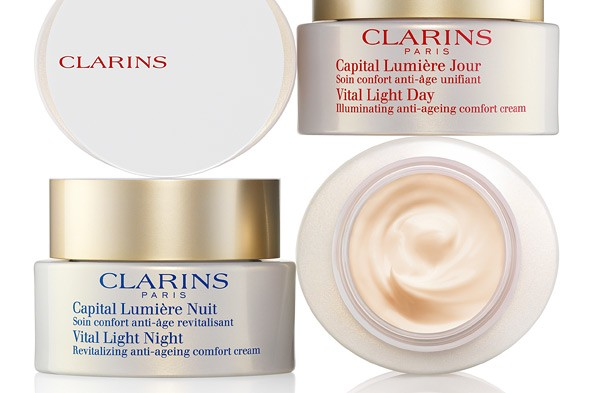 clarins vital light anti-aging cream