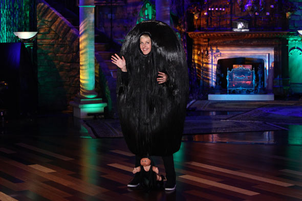 ellen degeneres snooki's pouf halloween costume The Ellen DeGeneres Show