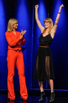 Gretchen Jones Project Runway season 8 winner host Heidi Klum