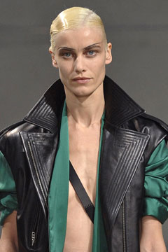 notched collar Haider Ackermann Spring 2011 runway