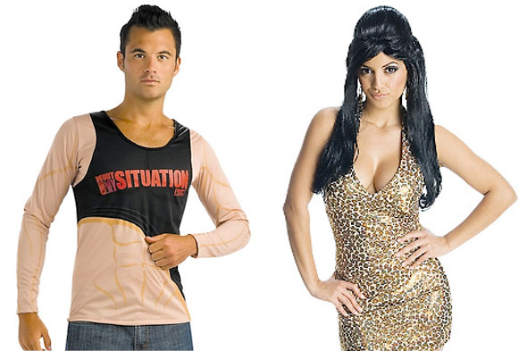 The Situation ShirtSnooki Leopard Dress Jersey Shore Halloween costumes Party City
