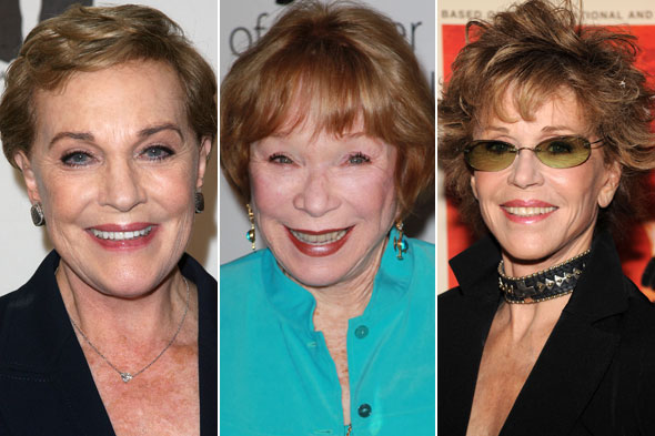 Julie Andrews Shirley MacLaine Jane Fonda