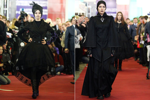 fashion moscow runway funeral russia catwalk model
