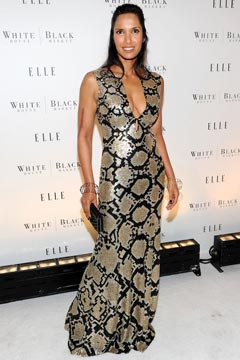 Padma Lakshmi Elle magazine 25th Anniversary party
