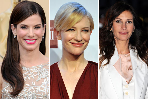 Sandra Bullock Cate Blanchett Julia Roberts