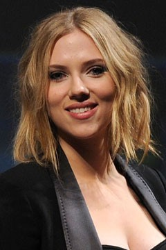 Scarlett Johansson Bob Haircut