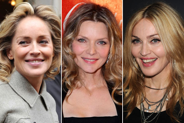 Sharon Stone Michelle Pfieffer Madonna