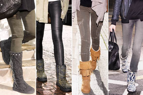 Jimmy Choo & UGG Capsule Collection boots