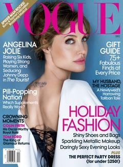 Angelina Jolie December cover Vogue