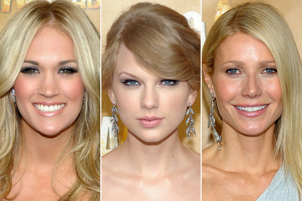 Carrie Underwood Taylor Swift Gwyneth Paltrow