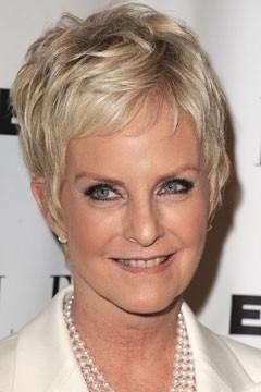 Cindy McCain pixie haircut