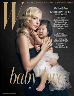 Katherine Heigl W Magazine December 2010 Cover