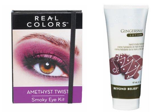 Real Colors Smoky Eye Kit and Beyond Belief Holiday Lotion