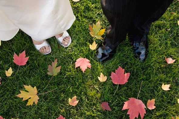 There 39s nothing like a fall wedding Photo Getty Images