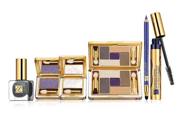 Este Lauder Pure Color Wild Violet Makup Collection and Sumptuous Extreme Lash Multiplying Volume Mascara