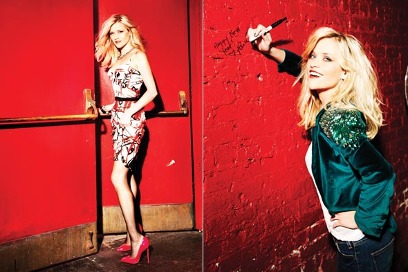 Courtesy Glamour. Reese Witherspoon achieved many milestones in her 20s