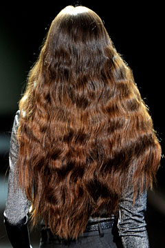 christian siriano fall 2011 hair