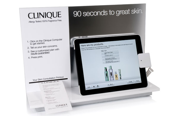 Clinique Skin Care Diagnostic Tool