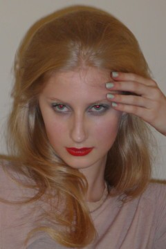 Makeup hair Costello Tagliapietra Fall 2011